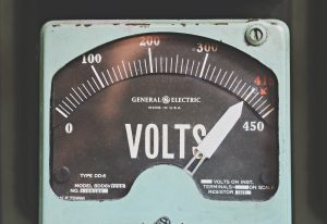 compteur de volts general electric
